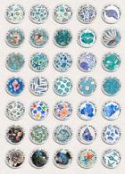 35 X Seashells Sea Shells ART BADGE BUTTON PIN SET 2 (1inch/25mm Diameter) - Animaux