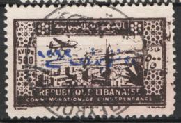 Gran Libano 1943 Y.T. A98 O/Used VF/F - Gross-Libanon (1924-1945)