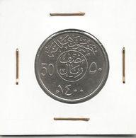 A3 Saudi Arabia 50 Halala 1400 (1979) - Arabia Saudita