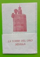 Servilleta ,La Torre Del Oro, Sevilha - Serviettes Publicitaires