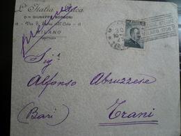 Targhetta Milano Esposizione 1906 Su 15 Cent Michetti 1°tipo - Storia Postale