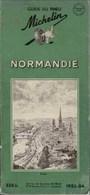 GUIDE MICHELIN -  NORMANDIE - 1953-54 - Michelin (guides)