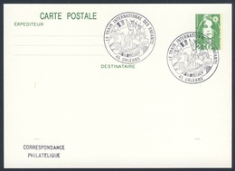 France Rep. Française 1991 Card / Karte / Carte - Le Train International Des Enfants, Orleans / Int. Kinderzug - Treinen