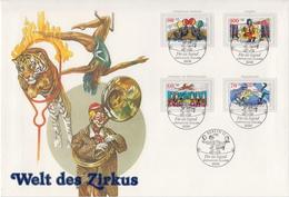 Germany / Berlin Circus Set On Jumbo FDC - Circus
