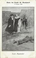 """Dans Les Fossés De Montjuich 13 Octobre 1909"""" Leurs Arguments""""(excécution De Francisco Ferrer)Anarchiste. - Barcelona"""