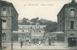 N°70134 -cpa Le Havre -hospice Général- - Le Havre