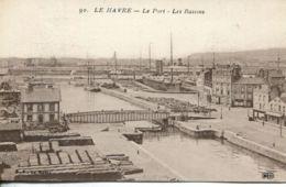 N°70136 -cpa Le Havre -le Port -les Bassins- - Le Havre