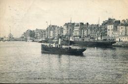 N°70143 -cpa Le Havre -l'avant Port Et Le Grand Quai- - Le Havre