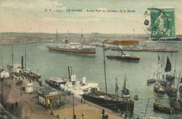 N°70144 -cpa Le Havre -l'avant Port Au Moment De La Marée- - Le Havre