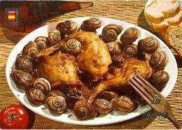 Espagne - Iberia - Conejo Con Caracoles Estilo Payes - Platos Tipicos Nº 59 - Fisa - 6051 - Recettes (cuisine)