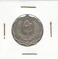 A9 Libya 50 Milliemes 1965. - Libië