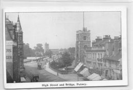 Hight Steet And Bridge Putney - London Suburbs