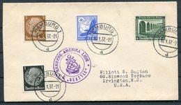 1937 Germany Hamburg-Amerika Linie Ship Cover DEUTSCHE SEATTLE - Allemagne