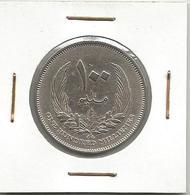 A12 Libya 100 Milliemes 1965. - Libië