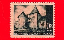 CROAZIA - HRVATSKA - Usato - 1942 - Panorama Di Varazdin - 0.75 - Croazia