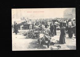 C.P.A. DU MARCHE DE LA BROCANTE A BESANCON 25 - Besancon