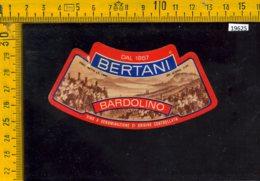 Etichetta Vino Liquore Bardolino - Bertani - Altri