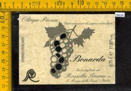 Etichetta Vino Liquore Bonarda Oltrepò Pavese-S. Maria Della Versa - Altri