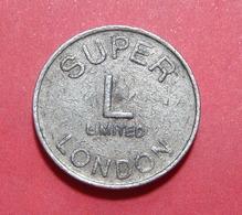UK LONDON SUPER LIMITED TOKEN, 23 Mm. - Casino