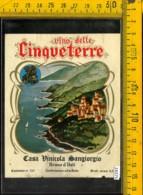 Etichetta Vino Liquore Delle Cinqueterre-Sangiorgio-Bruno D'Asti - Altri