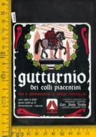 Etichetta Vino Liquore Gutturnio Dei Colli Piacentini-Piacenza - Altri