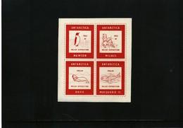 Australian Antarctic Territory 1963/64 Interesting Label - Australisches Antarktis-Territorium (AAT)