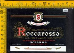 Etichetta Vino Liquore Roccarosso Sciarra-Acquaviva Picena AP - Etichette