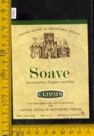 Etichetta Vino Liquore Soave Clivus-Monteforte VR - Etichette