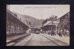 MONACO - Carte Postale - Intérieur De La Gare  Et Les Quais ( 1925 ) - L 23098 - Monaco