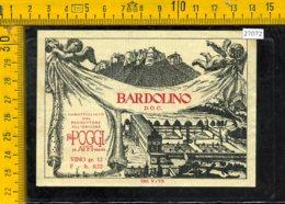 Etichetta Vino Liquore Bardolino F.lli Poggi Affi-Verona - Etichette