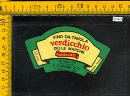 Etichetta Vino Liquore Verdicchio Delle Marche Piersanti-S. Paolo Di Jesi - Etichette