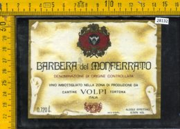 Etichetta Vino Liquore Barbera Del Monferrato Volpi-Tortona - Etichette
