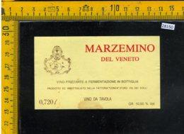 Etichetta Vino Liquore Marzemino Del Veneto Fattoria Conca D'Oro Conegliano - Etichette