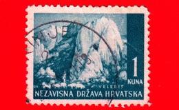 CROAZIA - HRVATSKA - Usato - 1941 - Panorami - Paesaggio Carsico Del Velebit Settentrionale - 1 - Croazia