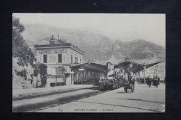 MONACO - Carte Postale - Monté Carlo - Intérieur De La Gare  Et Les Quais - L 23099 - Monaco