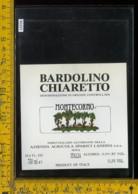 Etichetta Vino Liquore Bardolino Chiaretto Montecorno Landini-Sona VR - Etichette