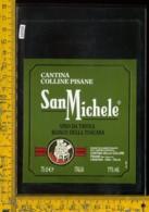 Etichetta Vino Liquore Bianco San Michele Colline Pisane-Pisa - Etichette