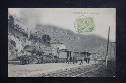 MONACO - Carte Postale - Monté Carlo -  La Gare  ( Train Gros Plan ) - L 23100 - Monaco