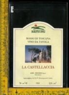 Etichetta Vino Liquore Rosso La Castellaccia Agripeccioli-Montespertoli - Etichette