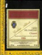 Etichetta Vino Liquore Chianti I Sodi Del Paretaio 1995-Badia Di Morrona-Terricciola - Etichette