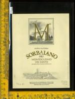Etichetta Vino Liquore Montescudaio Vin Santo 1985 Sorbaiano-Montecatini - Etichette