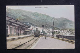 MONACO - Carte Postale - Monté Carlo -  La Gare  ( Train Plan Moyen ) - L 23101 - Monaco