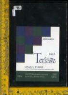 Etichetta Vino Liquore Terrazze 1993 Arrigoni-La Spezia - Etichette