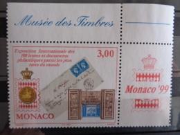 MONACO 1999 Y&T N° 2190 ** - EXPOSITION PHILATELIQUE INTERN. - Monaco