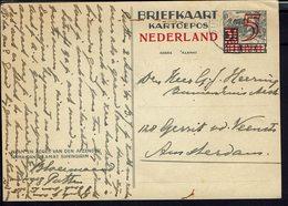 Pays-Bas - Indes Néerlandaises - Entier Postal 5 Ct Sur 3 Et Demie De Putten Pour Amsterdam - B/TB - - Indes Néerlandaises