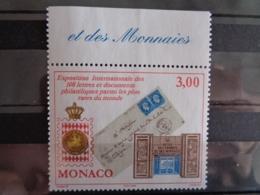 MONACO 1999 Y&T N° 2190 ** - EXPOSITION PHILATELIQUE INTERN. - Neufs