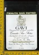 Etichetta Vino Liquore Gavi 1981 Tenuta S. Pietro Gavi AL - Etichette