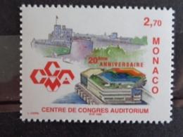 MONACO 1999 Y&T N° 2192 ** - 20e ANNIV. DU CENTRE DE CONGRES AUDITORIUM - Monaco