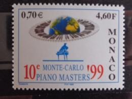 MONACO 1999 Y&T N° 2193 ** - 10e MONTE CARLO PIANO MASTERS - Neufs