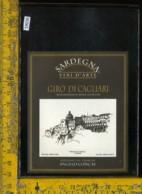 Etichetta Vino Liquore Girò Di Cagliari - Etichette